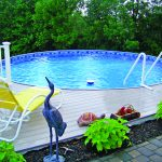 Round Deck Pool