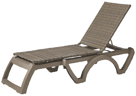 Grosfillex chaise lounge elegant white chaise lounge for Chaise de soleil longue