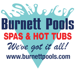 burnett pools spas and hot tubs we've got it all