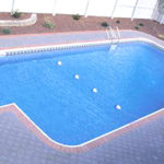 Legacy Edition Pools, 2ft Radius Rectangle Vinyl Liner Lap Pool