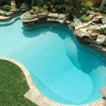 Legacy Edition Mountain Freeform Vinyl Liner Pool