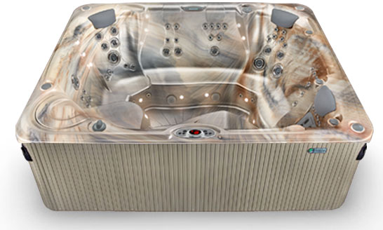 Gleam 3d hot tub