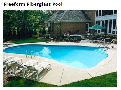 Custom Fiberglass In Ground Pool