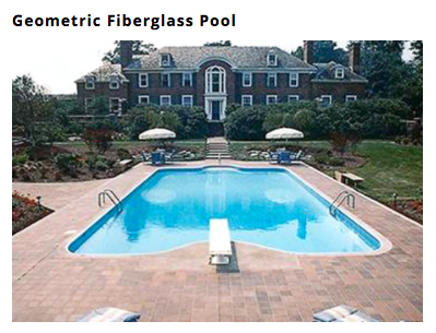 freeform Custom Fiberglass In Ground Pool