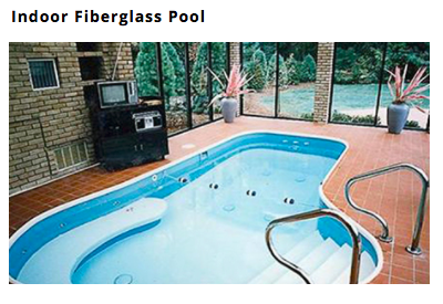 free form Custom Fiberglass In Ground Pool