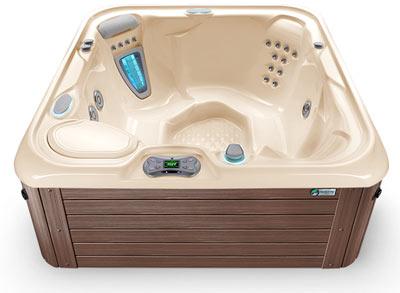 Creme Mocha Hot Tub