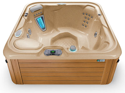 Desert Teak Hot Tub