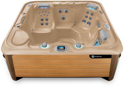 Envoy Desert Teak Hot Tub
