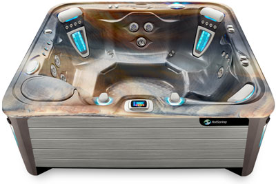 Grandee Tuscan Gray Hot Tub