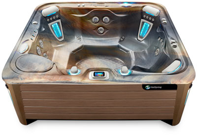 Grandee Tuscan Mocha Hot Tub