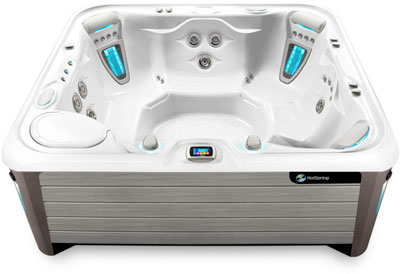 Grandee White Gray Hot Tub