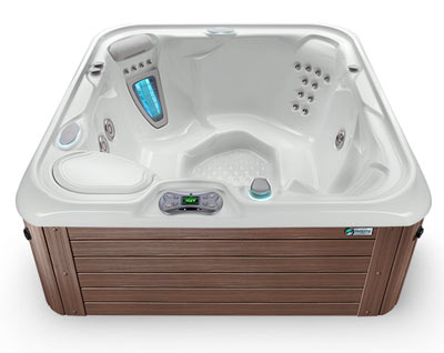 Gray Mocha Hot Tub