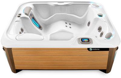 Jet Alpine Teak Hot Tub