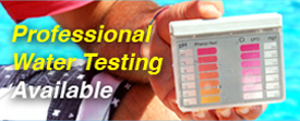 professional water testing ph
