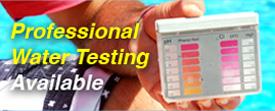 professional water testing ph